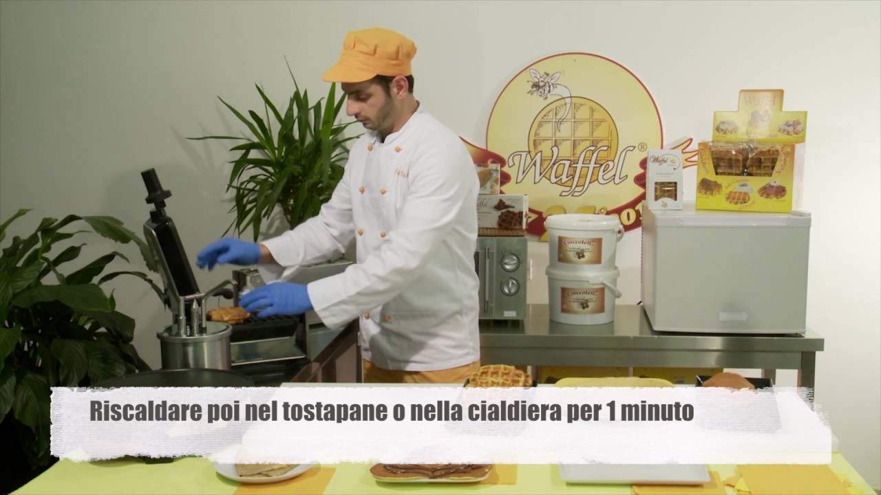 video prodotti waffelman