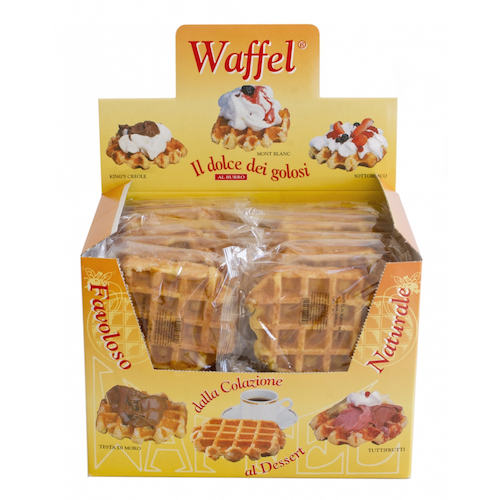 espositore waffel in map waffelman