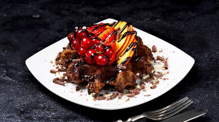 waffel cioccolato ricetta waffelman