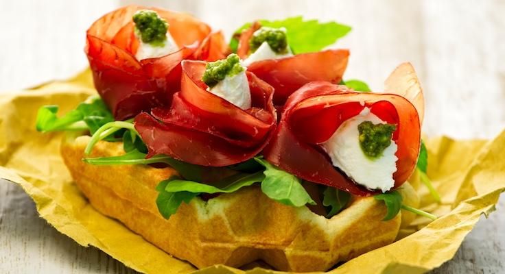 waffel salato ricetta waffelman